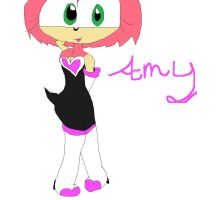 amy in rouges clothes by sonicandshadowfan