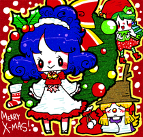 Merry Christmas 2012. by Cindysuke
