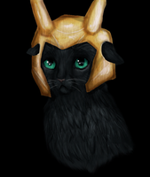 Loki cat by Speck--Of--Dust