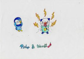 Oshawott .... the singer x'D by IperGiratina98