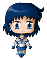Chibi Mercury Blink by izka197