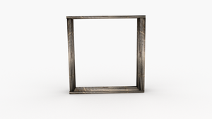 Old Wood Frame - 3D Modeling - Asset by lyssagal