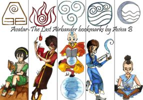 Avatar the Last Airbender bookmarks by hatoola13