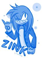 ::PC:: Zink the Echidna by TheWhiteWolf09
