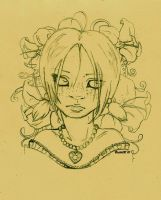 Wallflower _sketch_ by Baitti