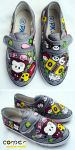 boyli grey shoes by JONY-CAKEP