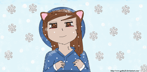 I in the snow by gatita28