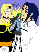 bleach oc and family -colored- by Zetsu-Chibi