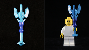 LEGO 3D Printed Painted Dominion Rod by mingles