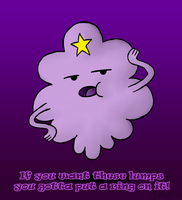 You Can't Handle These Lumps by DarthGuyford