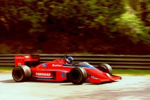 Patrick Tambay (Great Britain Tyre Test 1986) by F1-history