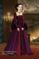 Anne Boleyn-Lady in Waiting Dress by EriksAngelOfMusic22