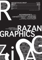 RazanGraphics Typography1 by razangraphics