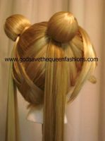 Sailor Moon Wig - Back View by gstqfashions