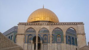 The Dome Of The Rock. by Haleema-A