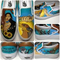 Pocahontas Shoes by hcram5