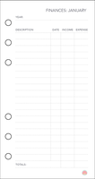 Free Planner Printable: Financial (Jan) by apparate