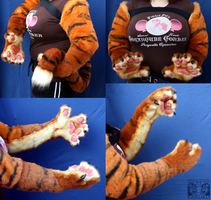 Oceantiger11 Paws:Arms:Tail by FarukuCostumes