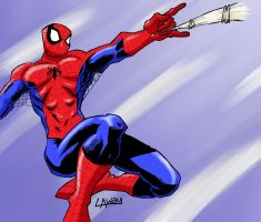COLOUR_The Amazing Spiderman by SweetAmberkins