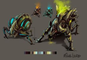 Alien Invader Designs by Miggs69