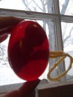 Peppermint Scented Fetus soap on a rope by thedollmaker