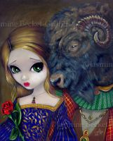 Beauty and the Beast by jasminetoad