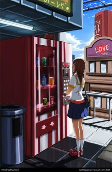 Vending Machine by Carthegian