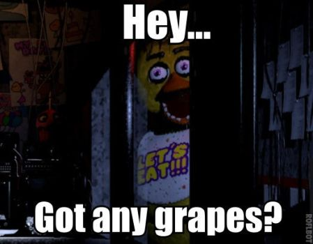 Chica Wants Grapes by AlphaMoxley95