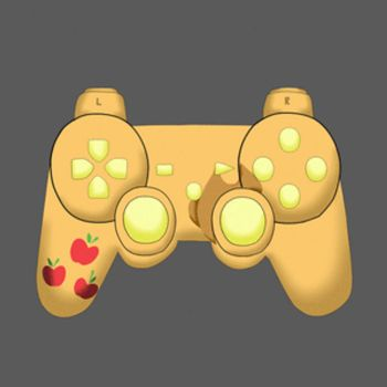 Mane 6 PS3 Controllers by onyxrayne