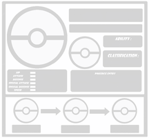 Pokemon Template threevolution by Trueform
