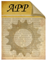 Steamunk Victorian APP executable file icon by pendragon1966