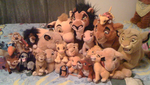 The Lion King Plush Collection by Eevee-Kins