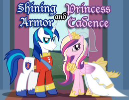Shining Armor and Princess Cadence by Xain-Russell