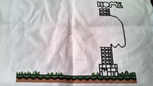 Home Sweet Home Yoshi WIP 023 and 024 by bobcrochets