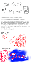 Music Meme kfs,jflsa ((WARNING: UGLY SKETCHES.)) by xItsElectric