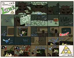 The Adventures of Link 1 by Monotypical