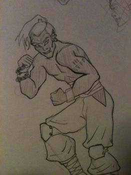 30DaysofSuperheroes- Day 3 Martial Artist by weirdlet