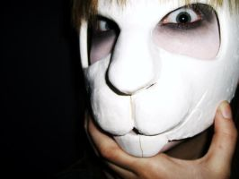 The Rabbit Mask III by whyte-rabbit