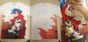 Kamina Shirt by r-fLowers