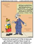 Pinocchio Can't be Liberal by Conservatoons