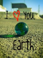 I :heart: You, Earth. by PropertyKar