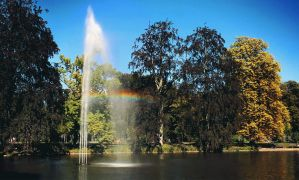GIF - Rainbow in the park by turst67