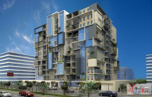 Residential Building In Dubai by yusuf-Abdelbaky