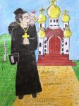 Rob Lucci monk by Dash-Ing-Nerro