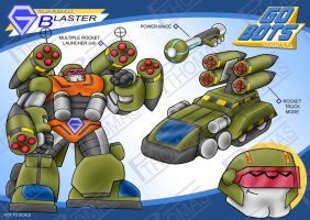 Gobots Animated Blaster by PWThomas