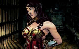 Wonder Woman, Dispair... by dgrart2013