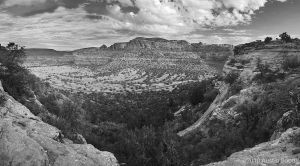 Boynton Canyon black and white by austinboothphoto