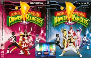 Mighty Morphin Power Rangers Season 2 by CaptainBarringer