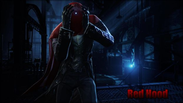 Red Hood Wallpaper by BatmanInc
