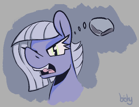 a rock for the rock horse by Flowbish